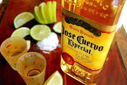 jose cuervo tequila - pretty much my favorite thing ever!