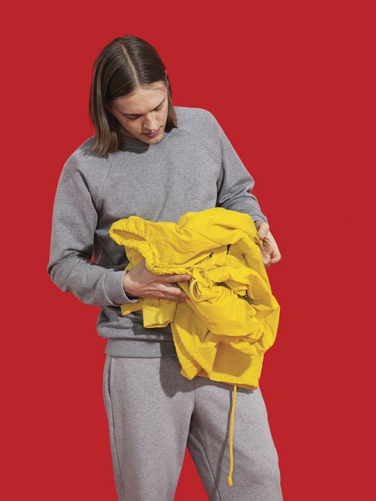 R-Collection Sweatshirt and Sweatpants. Photo by Osma Harvilahti