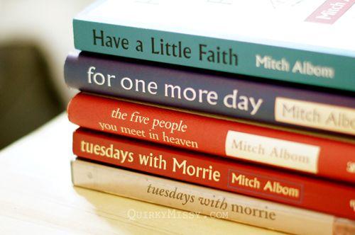 Mitch Albom's books and DVD
