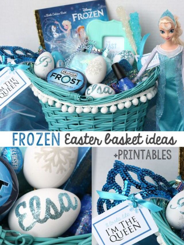 7 best easter gifts images on pinterest easter easter gift and so this is all happening disney frozen elsa easter basket ideas awesome for a little girl negle Choice Image