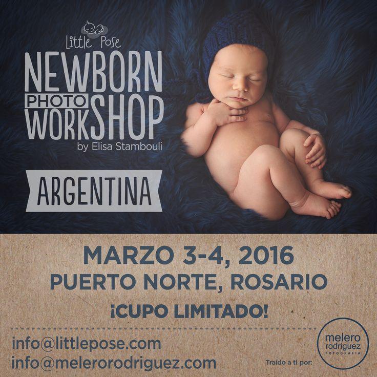 último lugar !!!! No te pierdas la posibilidad de aprender con Elisa Stambouli que viaja exclusivamente para dar este Workshop!! En marzo en nuestro estudio. Toda la info en http://www.littlepose.com/workshop-de-fotografia-de-recien-nacidos-en-rosario-espanol/