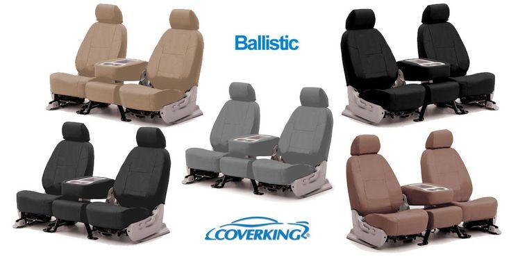CoverKing Ballistic Custom Seat Covers for Dodge Ram 250 350 2500 3500 #CoverKing
