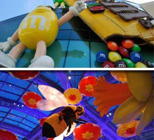 Shows, espectáculos y atracciones gratis para ver en Las Vegas. Qué ver en Las Vegas gratis sin gastar dinero. Entretenimiento para adultos y niños
