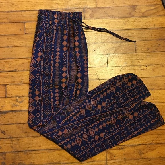 Tribal Print Pants  Aztec Print Pants  New without tags  No Trades/No Holds  Open to negotiations  Pants