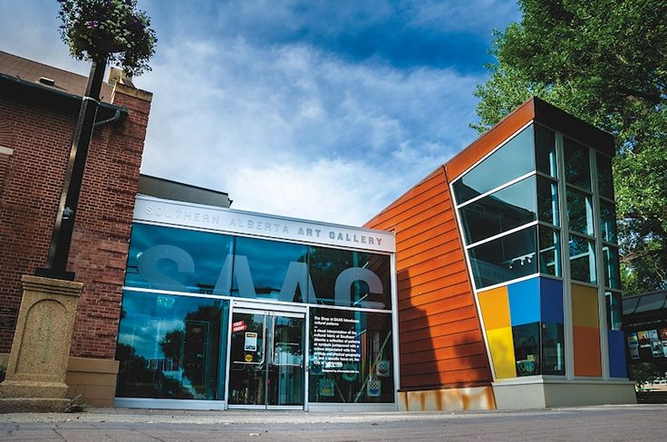 Southern Alberta Art Gallery -The World Is On Our Walls and In Our Spaces.                            Centrally located, the Southern Alberta Art Gallery is within walking distance from hotels, shopping and dining options. #chooselethbridge