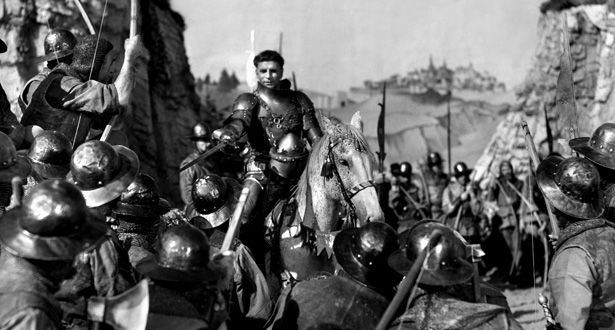 Henry V (1944)  You've got to have one Laurence Olivier in any Shakespeare list, so it's this grand, experimental take on Henry V. Made toward the end of World War II it was intended as a rousing rush of patriotism and support for 'our boys', and is very successful as such. The shift between stage and 'real life' settings works superbly and there's no better delivery of the St Crispin's Day speech. The 10 Greatest Shakespeare Movie Adaptations   ShortList Magazine