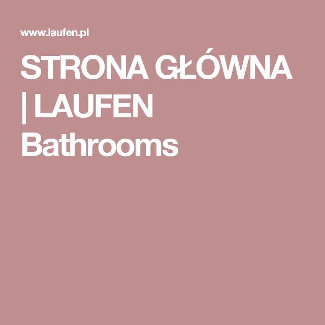 STRONA GŁÓWNA | LAUFEN Bathrooms