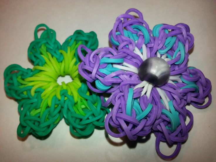 64 best images about hobby rainbow loom flora on
