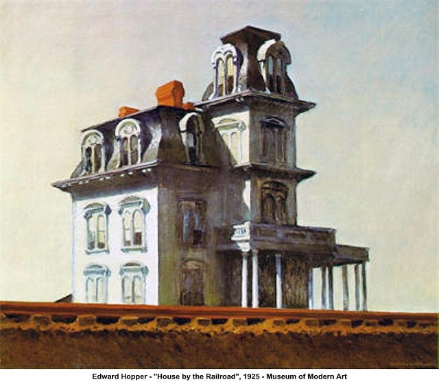 Edward Hopper - 'House by the Railroad', 1925 by artimageslibrary, via Flickr