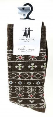 "Bengt & Lotta, Merino Wool Socks – ""Folklore"" – Scandinavian Specialties"