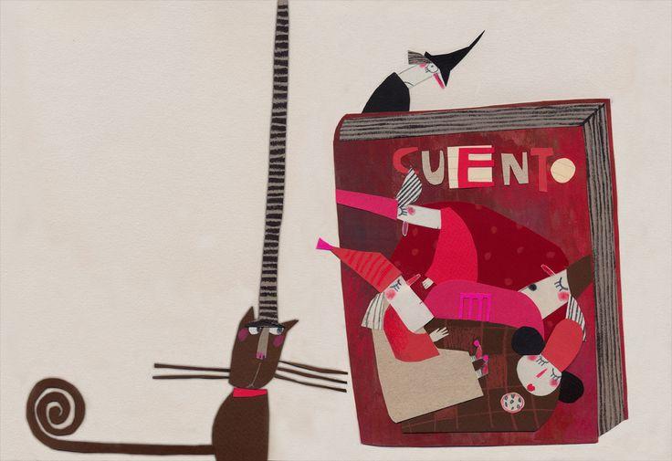Carmen Queralt illustration