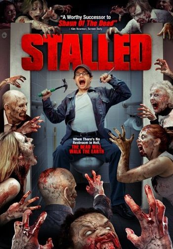Stalled (2013) is a British comedy-horror that was directed by Christian James and premiered at the London FrightFest Film Festival on 24 August 2013. Find out more: http://thezombiesite.com/stalled-2013/