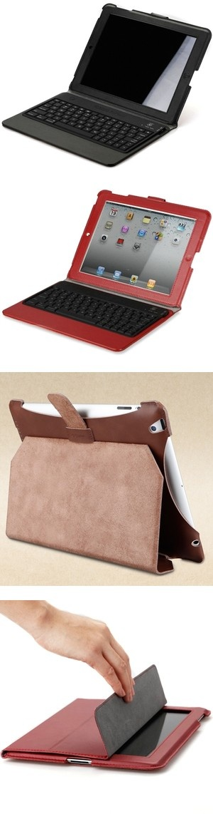 """iPad 4 Genuine Leather Case with Keyboard"" by jennygood88 ❤ liked on Polyvore"