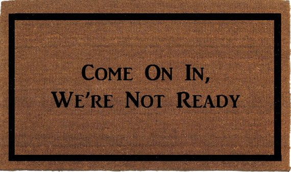 Come On In We're Not Ready Grey Gardens Quote by FranklinandFigg