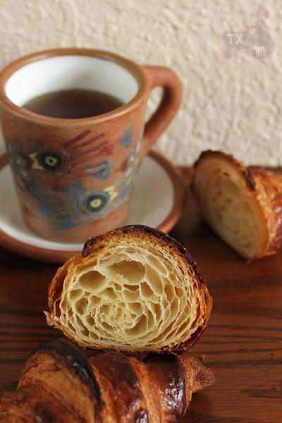 Croissant with Sourdough Starter - TXFarmer VS. TX summer   The Fresh Loaf