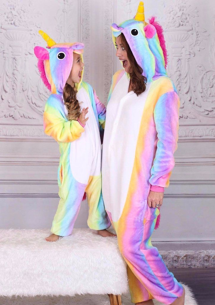 7a9847722c Mommy and me unicorn pajamas,Mother daughter unicorn pajamas,Unicorn  clothes for girls