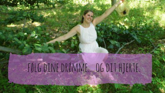Hvordan du kan følge dine drømme. Længes du efter noget? LÆS MERE og bliv inspireret: http://www.annweidesign.com/foelg-dit-hjerte-start-som-ung-som-miriam-mcgovern-og-maria-andreasdottir/