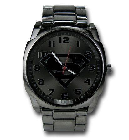 Superman Symbol Stainless Steel Watch