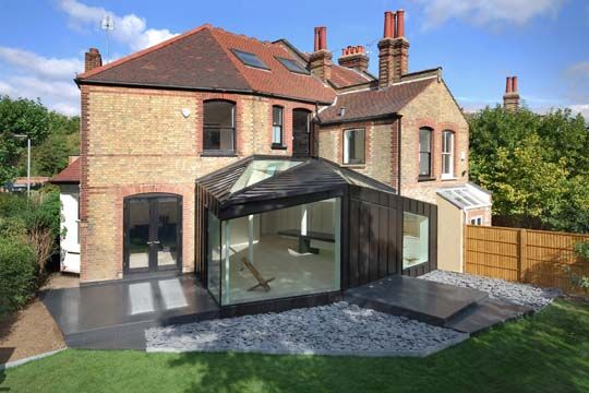 Home Extension project in London by Studio Octopi 1 Home Extensions project in London inspired by the existing geometry of the House and Garden