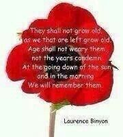 Lest we forget …