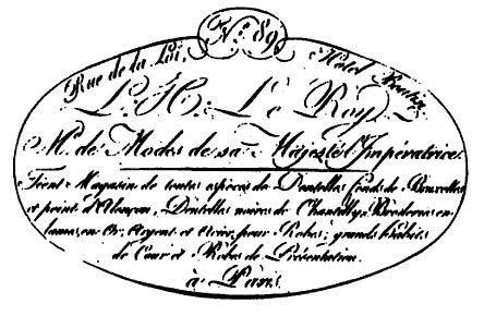En tête Leroy 1807