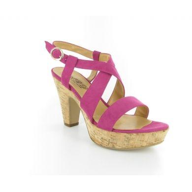 Sandalo in camoscio by Ard #scarpe #donna #italianshoes