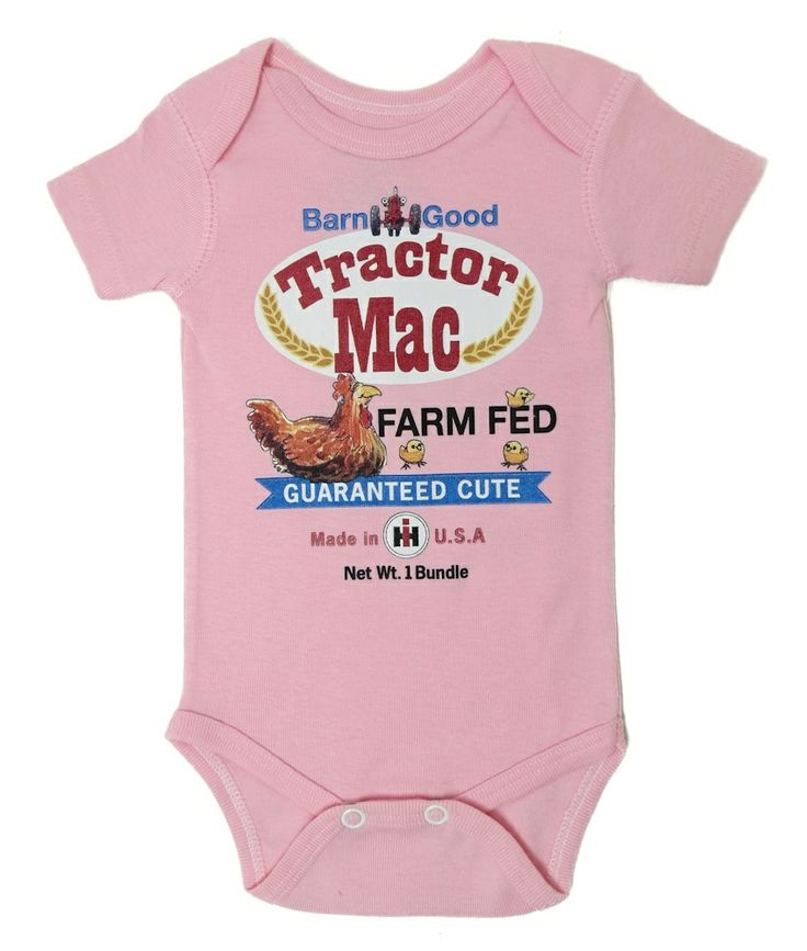 New Holland Tractor Baby Clothes