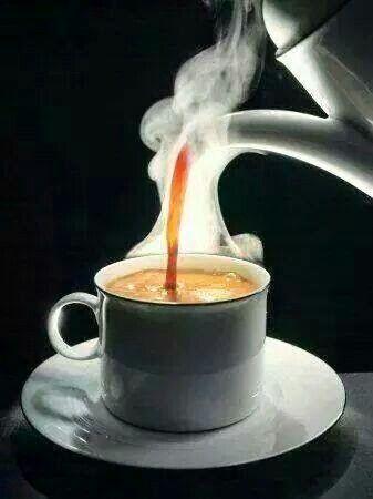 Resultado de imagen de cafe humeante