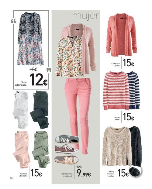 ddb56b4f7e3f Ofertas ropa Carrefour: mujer, hombre y niños | Moda primavera ...