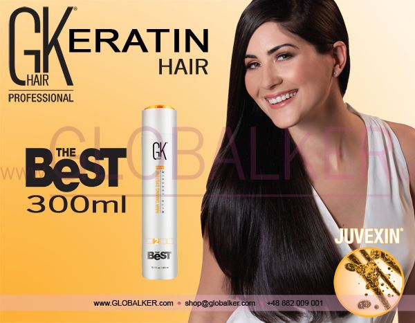 Keratin Hair GK Hair The Best 300ml Global Keratin Juvexin