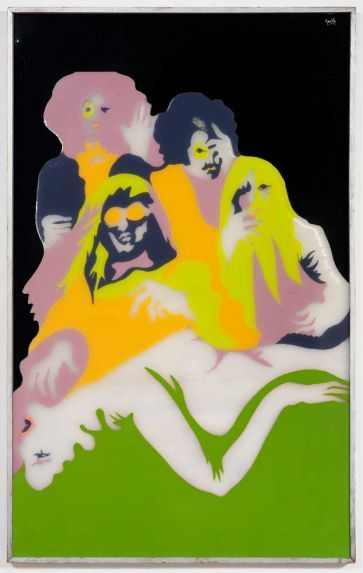 Group Therapy, 1970      Evelyne Axell
