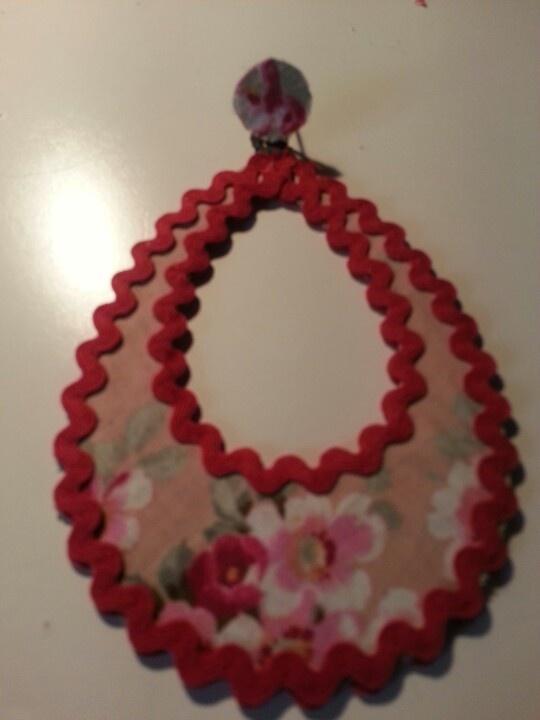 Pendientes flamenca #handmade #earings #hechosamano #flamenca #pendientes