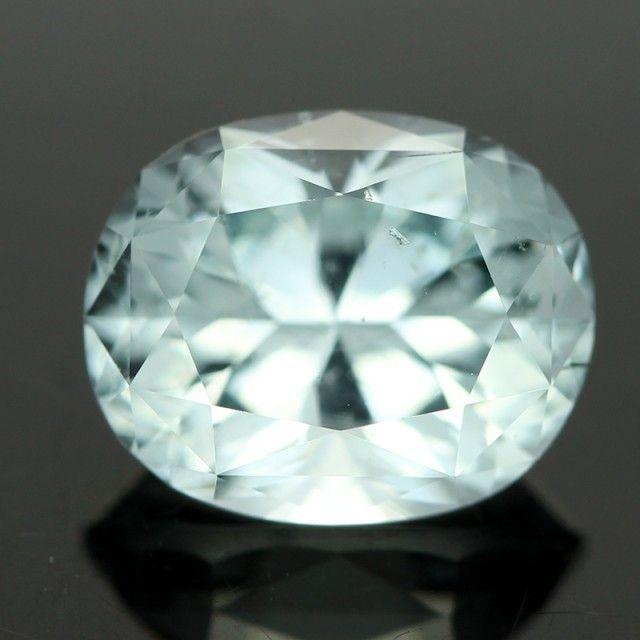 3.26cts Sea Blue Aquamarine (RAQ30) | gemstones | aquamarine | faceted gemstone