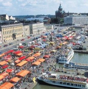 Helsinki market. Our tips for things to do in Helsinki: http://www.europealacarte.co.uk/blog/2011/08/15/what-to-do-helsinki/