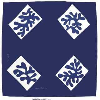 Henri Matisse 'Echarpe No. 1', silk square design for Zika Ascher,1947