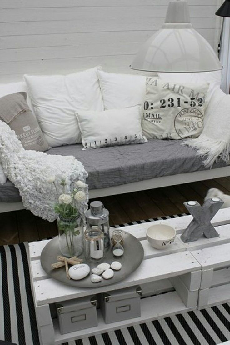 Sweet Harmonie: DECORAR CON PALETS