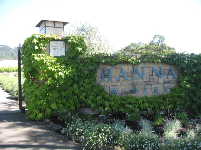 Hanna Winery Russian River Valley