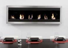Biofuel Wall Fireplace