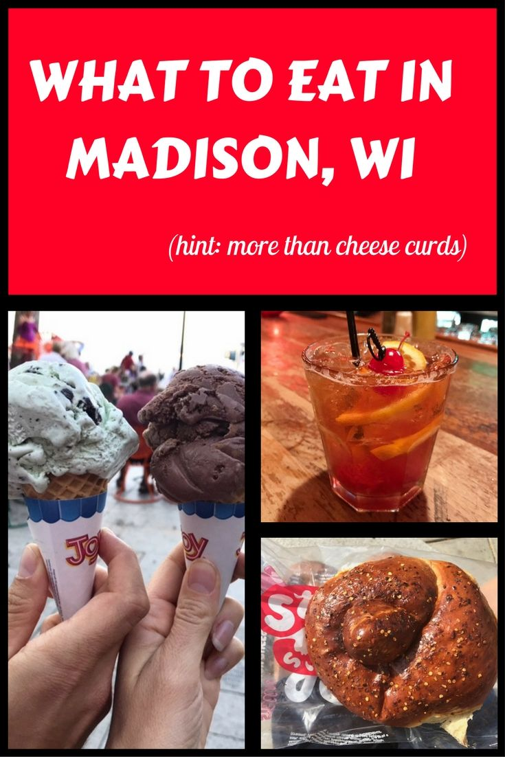 Best things to eat in madison wisconsin