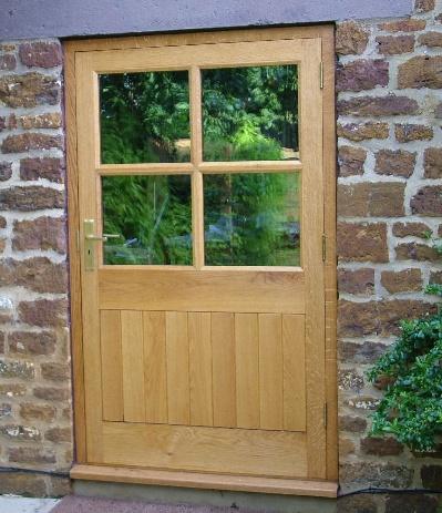 Bespoke oak glazed door by Merrin Joinery #bespoke #door & 35 best Bespoke Wooden Doors images on Pinterest Pezcame.Com