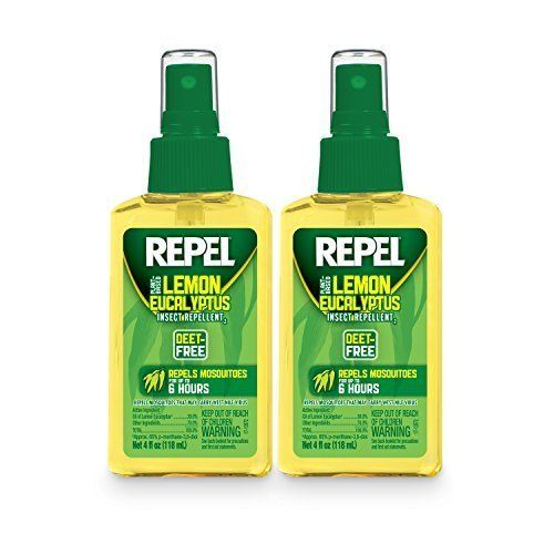 REPEL HG-24109 Lemon Eucalyptus Natural Insect Repellent with 4 oz Pump Spray, Twin Pack Style: Pack of 2, Model: HG-24109, Home/Garden & Outdoor Store by Garden & Patio
