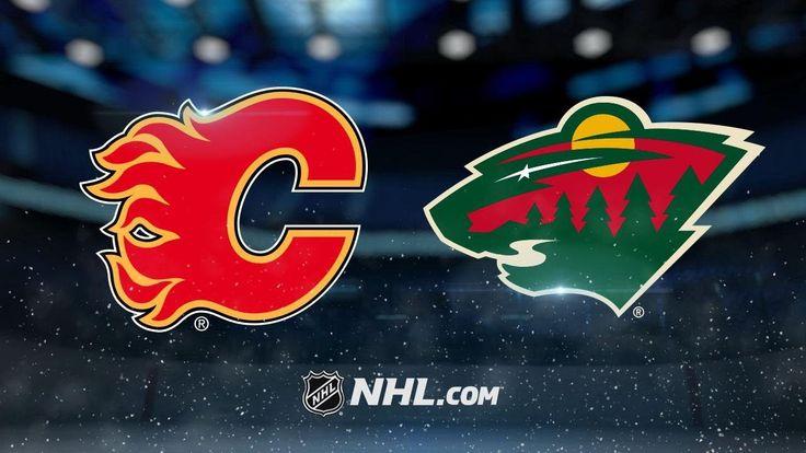 Cullen, Wild outlast Flames in 2-1 shootout win - NHL News Videos