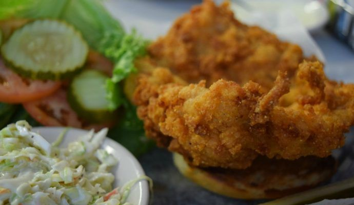Oasis Diner Pork Tenderloin Indiana