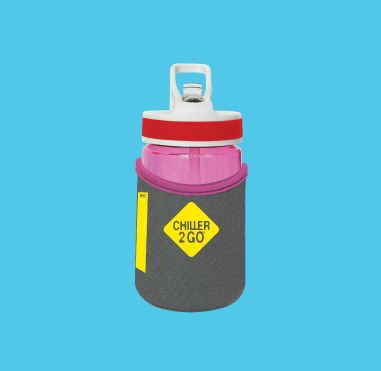 Chiller2Go® 350mL Drink Bottle