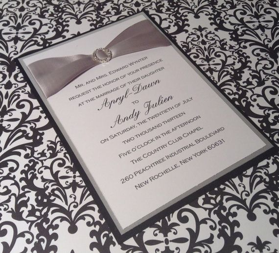 Silver Wedding Invitations Pinterest: Pin By Marco Montoya On For The New Year