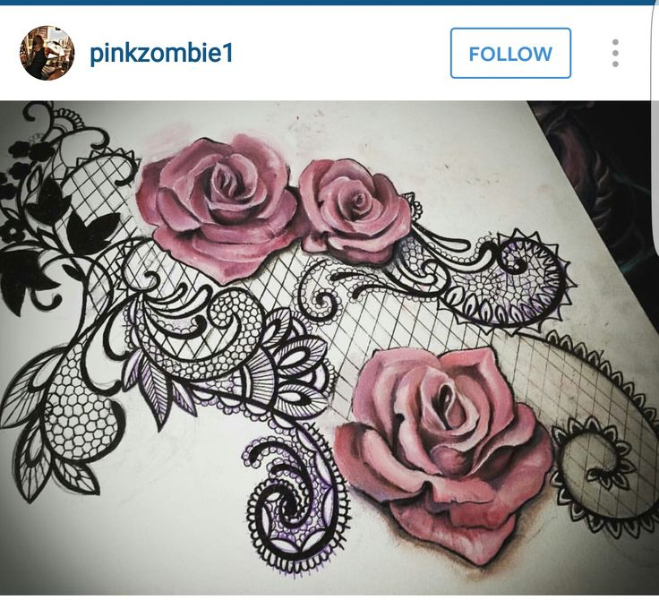 rose shape lace tattoovorlage pinterest tattoo vorlagen netz und vorlagen. Black Bedroom Furniture Sets. Home Design Ideas