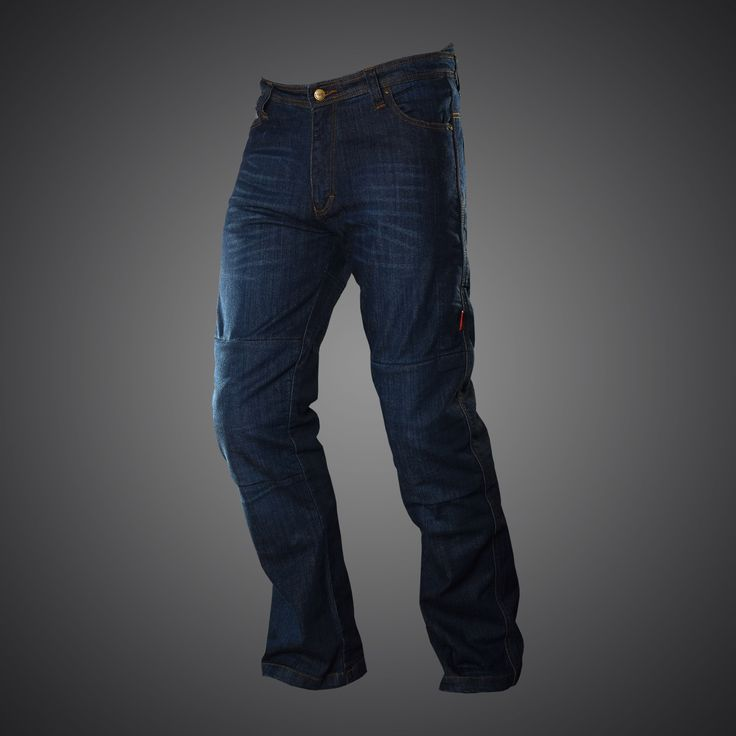 New 4SR kevlar jeans in classic style.These motorcycle trousers are made of 14 ounce denim reinforced with DuPont™ Kevlar® fiber on the knees and hips.