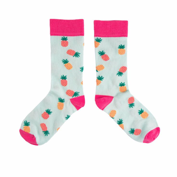 We love bright and colourful socks so we thought that we would bring you fun Pineapple socks for our Spring Summer collection. Ethical, fun and colourful socks!