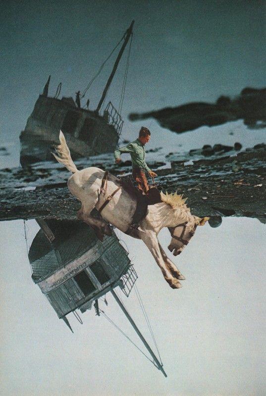 L'artiste belge David Delruelle crée des collages qui jouent avec les perceptions et les perspectives