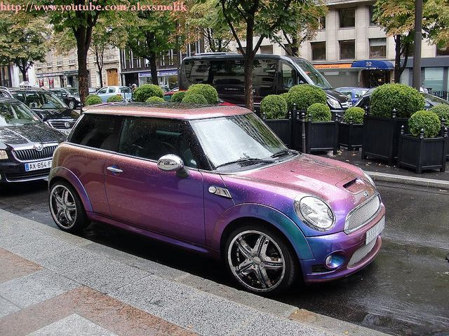 I want this! Mini Cooper... no more $$$$$ at the gas pump